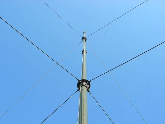 Mv 75 Giovannini 5 section Antenna Mast 7 5 m Glass Fibre