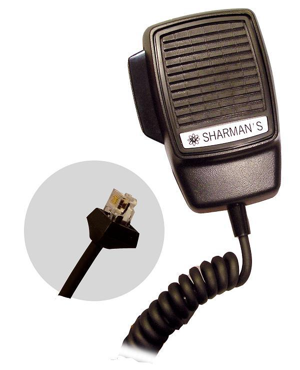 SHARMAN'S DM523-P6MX DYNAMIC MIC-6PIN MAXON PM100 SERIES