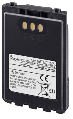 icom BP-272 high capacity Li-ion battery pack