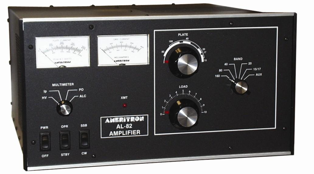 AL-82XQCE Ameritron 1.5kW HF Linear Amplifier with QSK-5 install