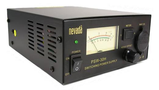 Nevada PSW-30H Power Supply With Large Meter