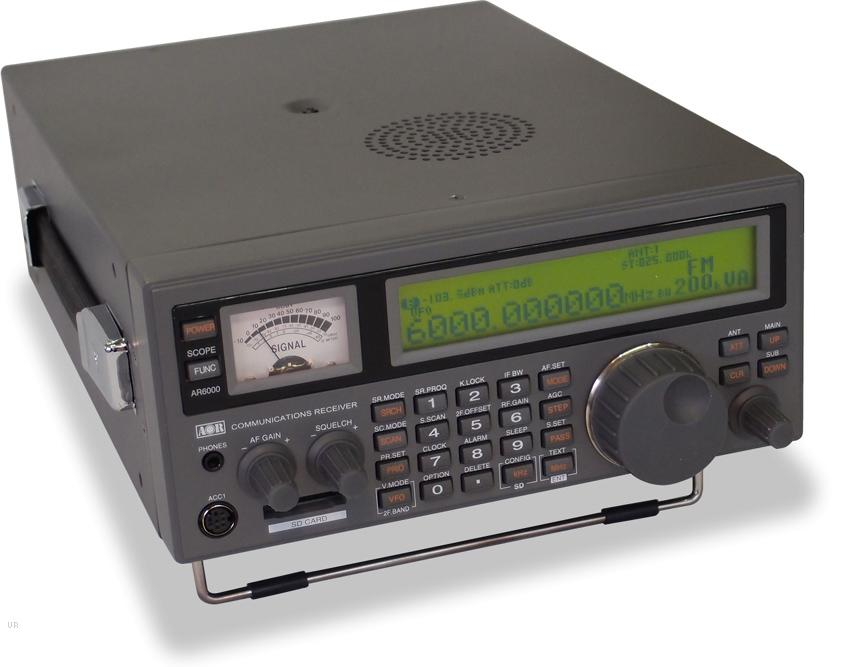AOR AR-6000 wideband communications receiver