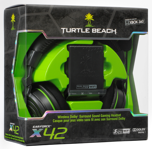 Turtle Beach Ear Force X42 Wireless Xbox 360