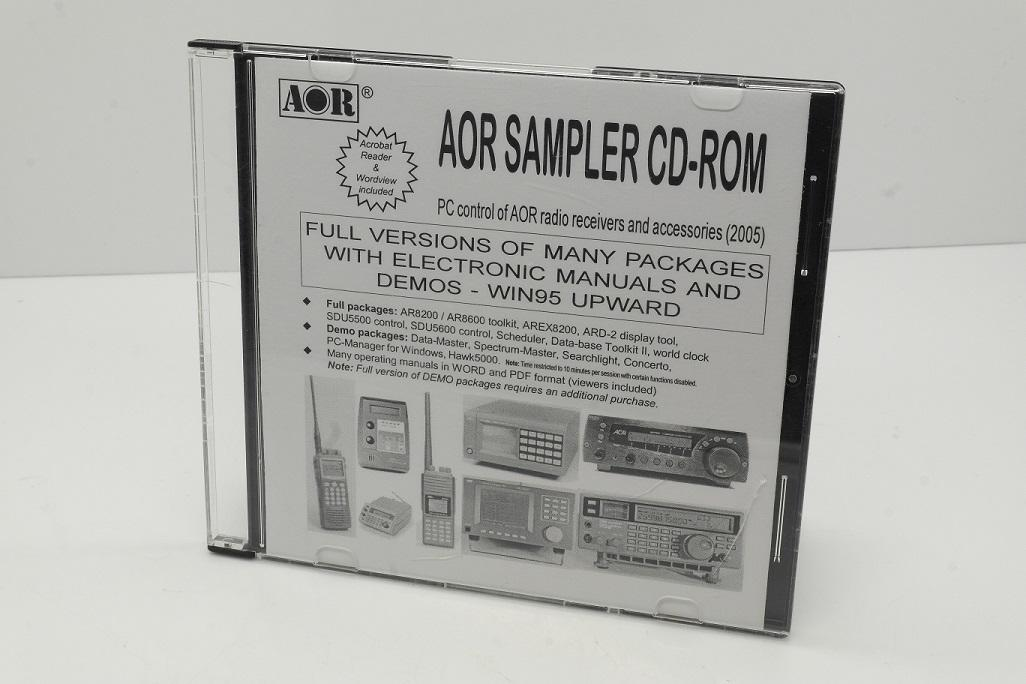 AOR Sampler PC Control of AOR Radio Receivers and Accessories (2