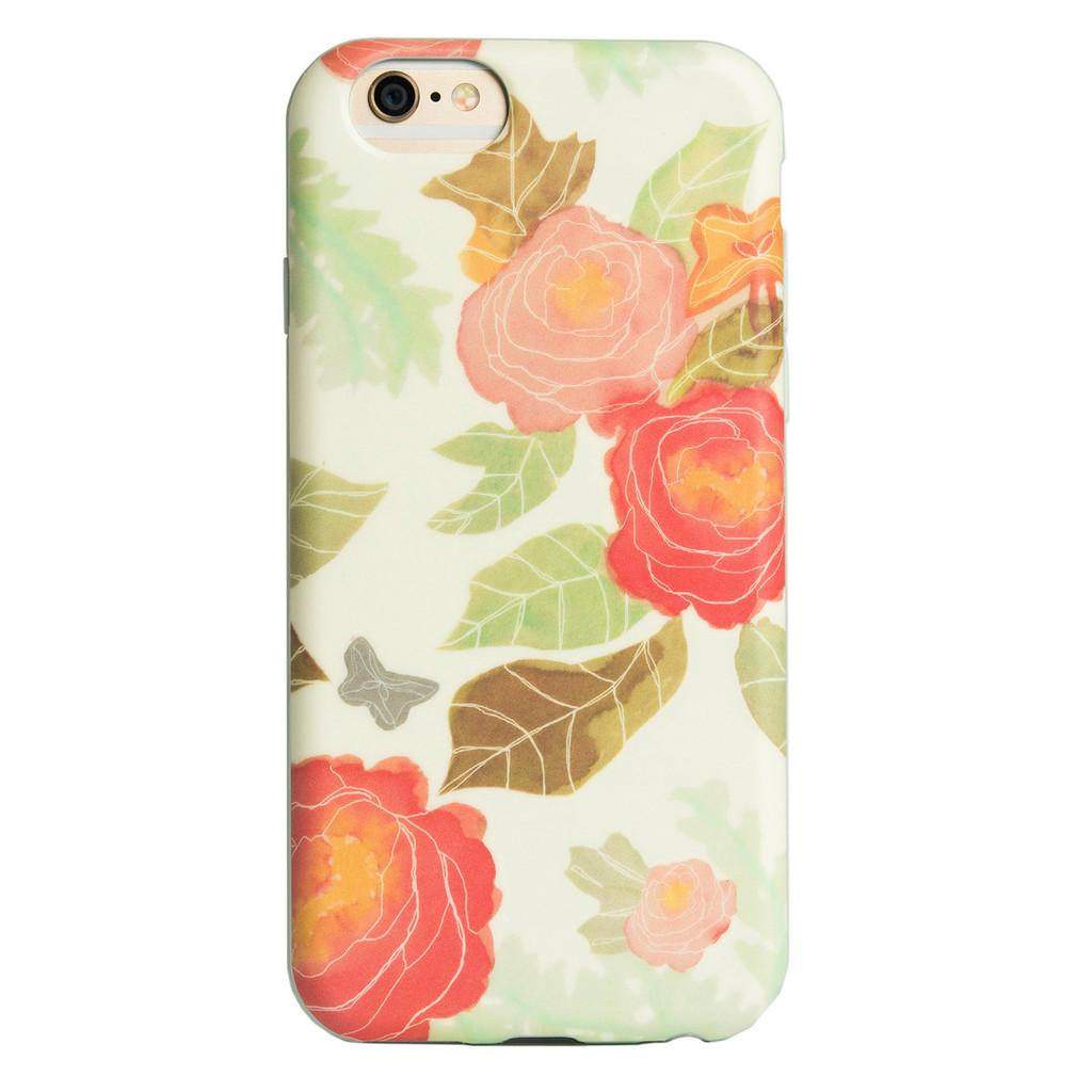 Agent 18 Flexshield - Pastel Flowers iPhone 6