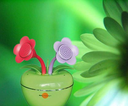 AMETHYST IFLOWER SPEAKER - GREEN s1