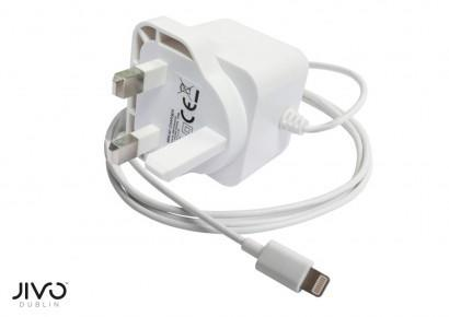 JIVO Charger Lightning 2100mA UK Mains adapter