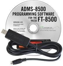 ADMS-8500 Programming Software and USB-29B for the Yaesu FT-8500