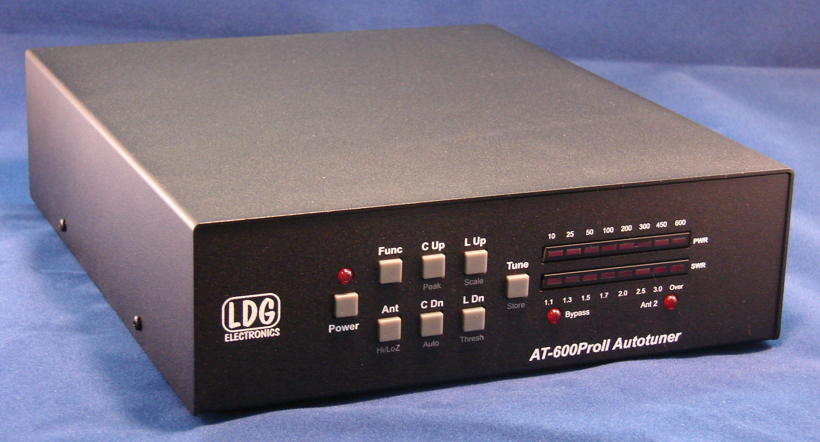 LDG AT-600ProII Automatic Antenna Tuner