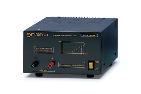 Microset PT-110A 10 Amp 13.8V Power Supply
