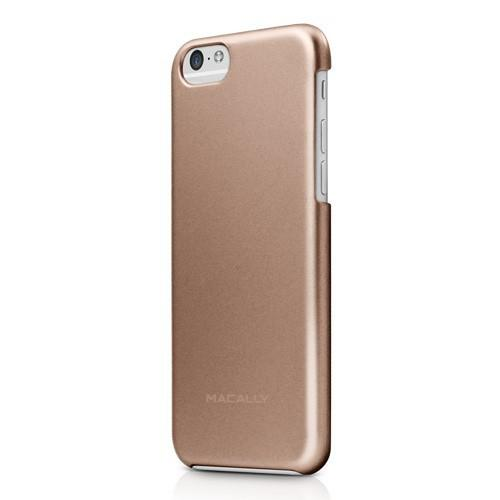Macally Case iPhone 6 AlumSnap Champagne Metallic