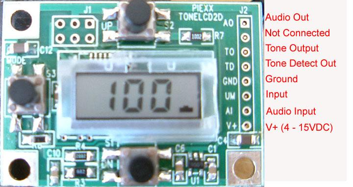 ToneLCD Direct Reading CTCSS Tone Encoder / Decoder
