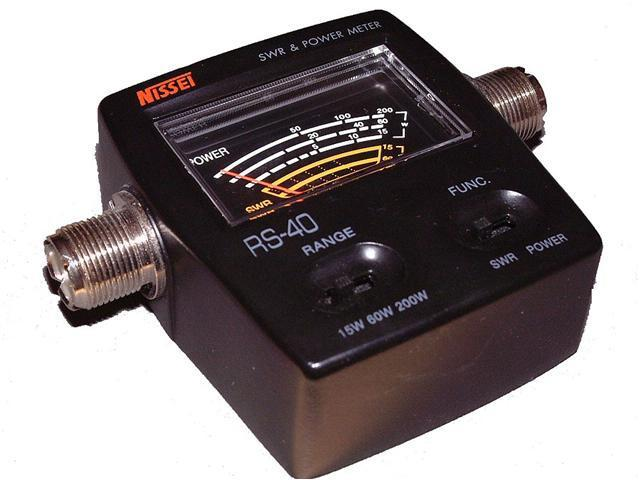 Nissei RS- 40 V/UHF 200W SWR & Power Meter (140-150 & 430-450mhz