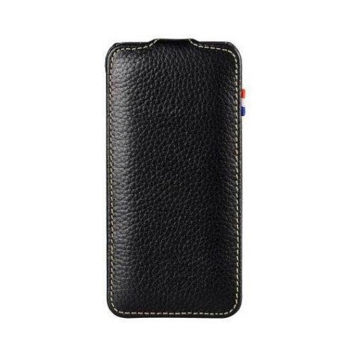 Decoded Apple iPhone 5 Leather Flip Case in Black