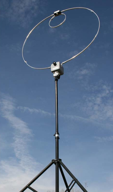 Alpha Loop QRP Magnetic Loop Antenna with Tripod