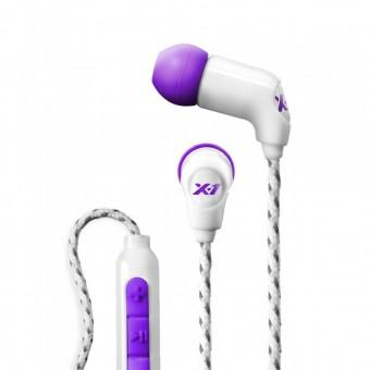 X-1 Headphones Momentum White/Purple