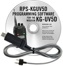RPS-KGUV5D Programming Software and USB-K4Y cable