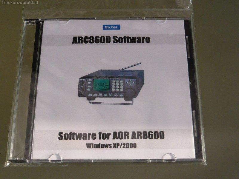 ARC-8600 Software for the AOR AR8600