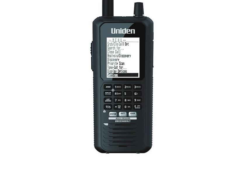BEARCAT UBC-D3600XLT-NXDN WITH ACTIVATED NXDN