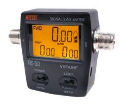 NISSEI RS-50 SWR 120W Power METER VHF 140-150MHZ / UHF 430-450MH