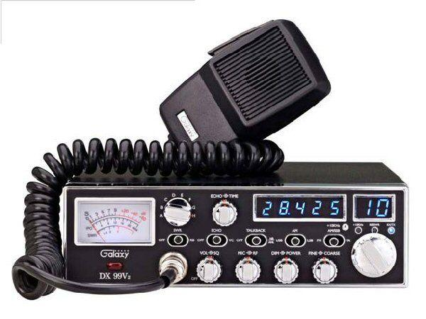 Galaxy DX99V2 AM/FM/SSB 10M Mobile Transceiver