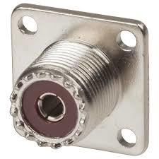 SO-239-4 4-hole SO-239 Chassis Socket