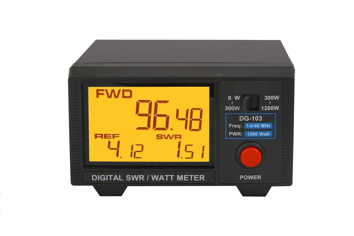 Nissei DG-103 Digital Display SWR/Power Meter