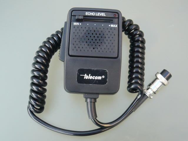 Telecom EMD-1000-4 POWER/ECHO Handheld Microphone