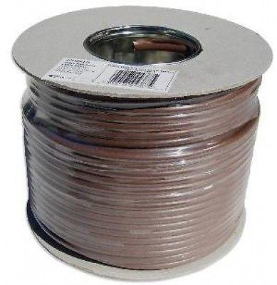 Dr tv 75b 100m Drum Tv fm Brown 75 Ohm Coax Cable