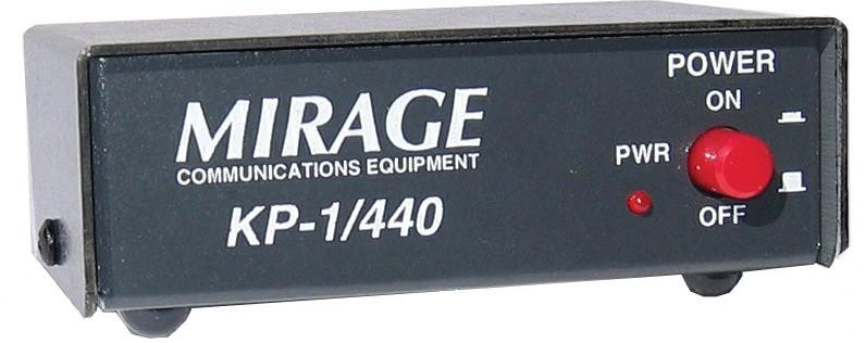 KP-1-440 MIRAGE 70cm Pre-amp in shack type 420-470MHz