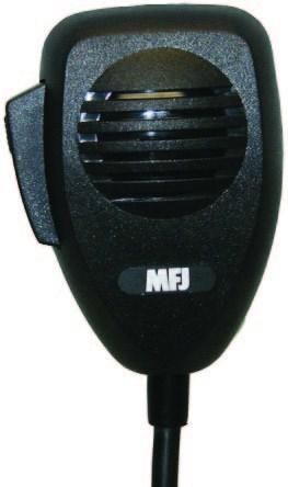 MFJ-290T Tentec HF Radio Replacement Mic (8-pin round).