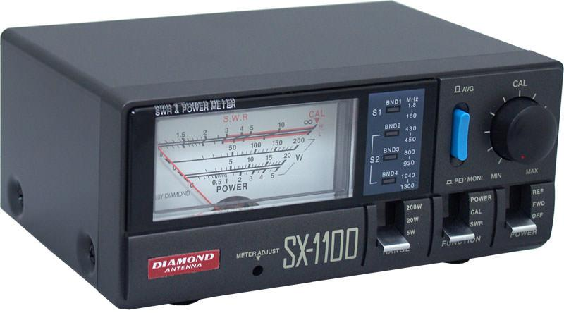 Diamond SX-1100 - SWR/Power meter