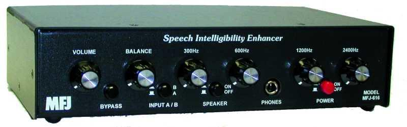 MFJ-616 - Speech Intelligibility Enhancer
