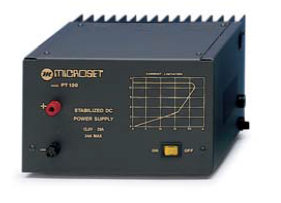 Microset PT-120A  20 Amp 13.8V Power Supply