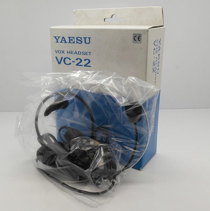 Yaesu VC-22 VOX Headset/Microphone for FT-51R, FT-11R