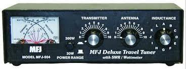 MFJ-904 3.5-30MHz 150W Travel Tuner with SWR/PWR meter