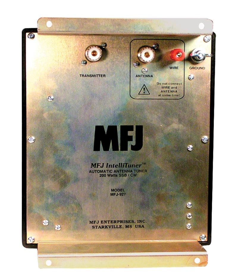 MFJ-927 200 Watt Automatic Antenna Tuner Weather Protection