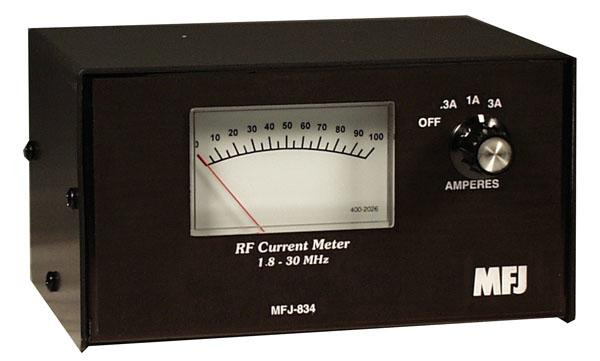 MFJ-834 Coax In-Line Calibrated RF Ammeter