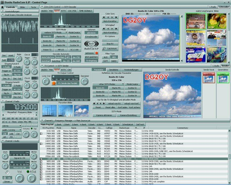 MFJ-1299 RadioCom4 Multimode Sound Card Software for 1275/M