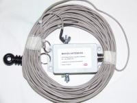 HW-80HP Multiband HF off-centre fed dipole with 4:1 balun 80-10m