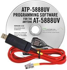 ATP-5888UV Programming Software and USB-A5R cable for the AnyTon