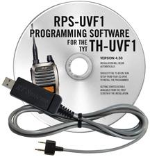 RPS-UVF1 Programming Software and USB-K4Y cable for the TYT TH-U