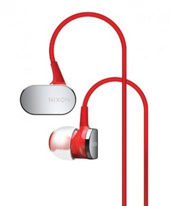 Nixon Micro Blaster Headphones Red