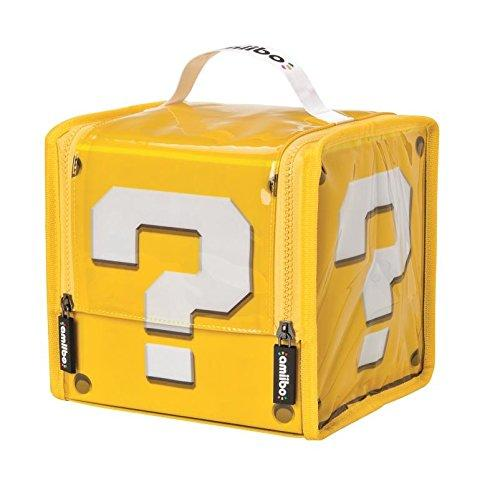 Amiibo Super Mario Question Block Case (Nintendo Wii U)