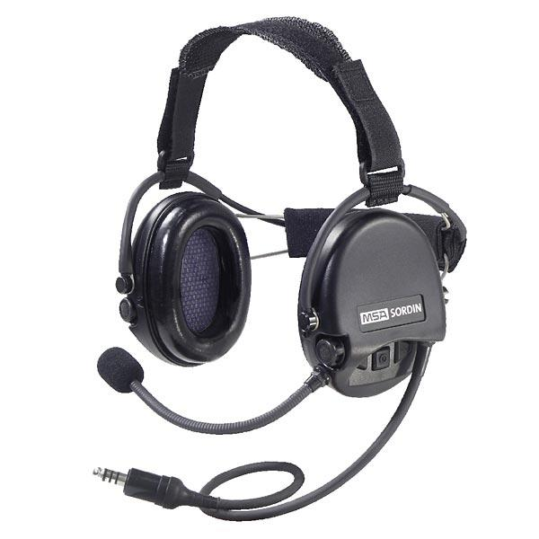 MSA CC Supreme Pro Neckband Active Digital Headset