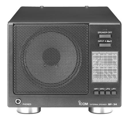 Icom SP-34 Base Station Speaker with Filters