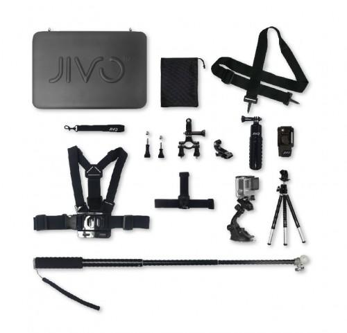 JIVO GO GEAR UNIVERSAL ACTION CAMERA ACCESSORY KIT