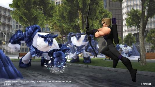 DISNEY INFINITY 2.0: HAWKEYE INTERACTIVE GAME PIECE S4