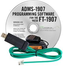 ADMS-1907 Programming Software and USB-29F cable-Yaesu FT-1907