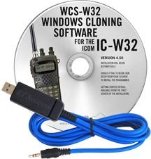 Icom IC-W32 Programming Software and USB-29A cable